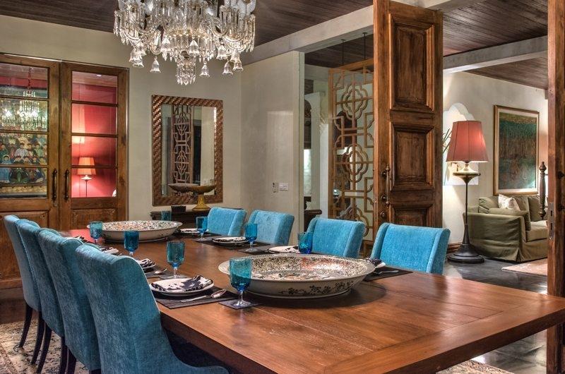 Jeeva Saba Estate Dining Area, Gianyar | 8 Bedroom Villas Bali