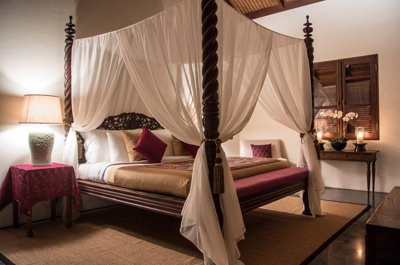 Jeeva Saba Estate Bedroom with Table Lamps, Gianyar | 8 Bedroom Villas Bali