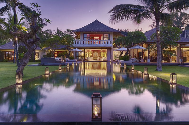 Kaba Kaba Estate Night View, Tabanan | 8 Bedroom Villas Bali