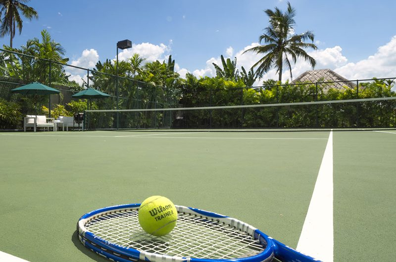 Kaba Kaba Estate Tennis Court, Tabanan | 8 Bedroom Villas Bali