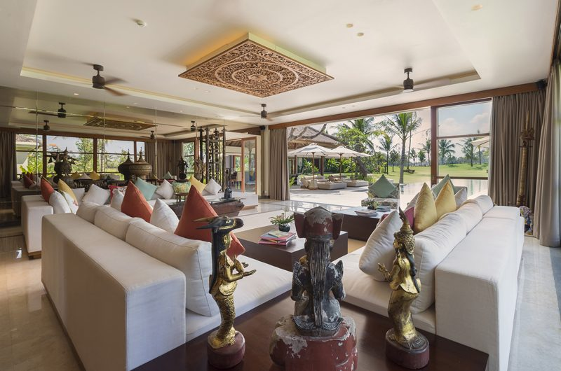 Kaba Kaba Estate Indoor Living Area, Tabanan | 8 Bedroom Villas Bali