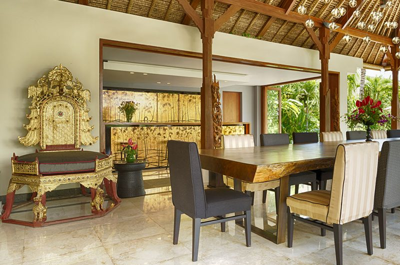 Kaba Kaba Estate Dining Area, Tabanan | 8 Bedroom Villas Bali