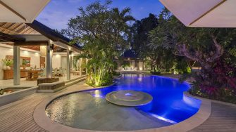 Lataliana Villas Night View, Seminyak | 8 Bedroom Villas Bali