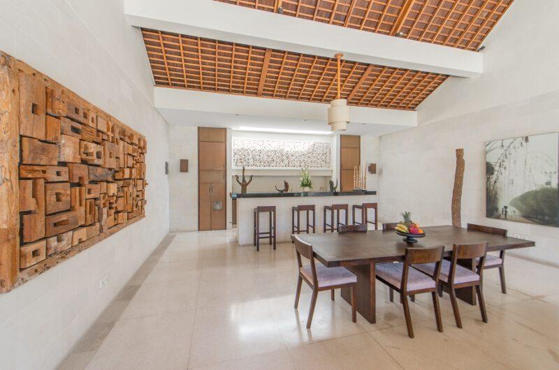 Nyaman Villas Kitchen and Dining Area, Seminyak | 8 Bedroom Villas Bali