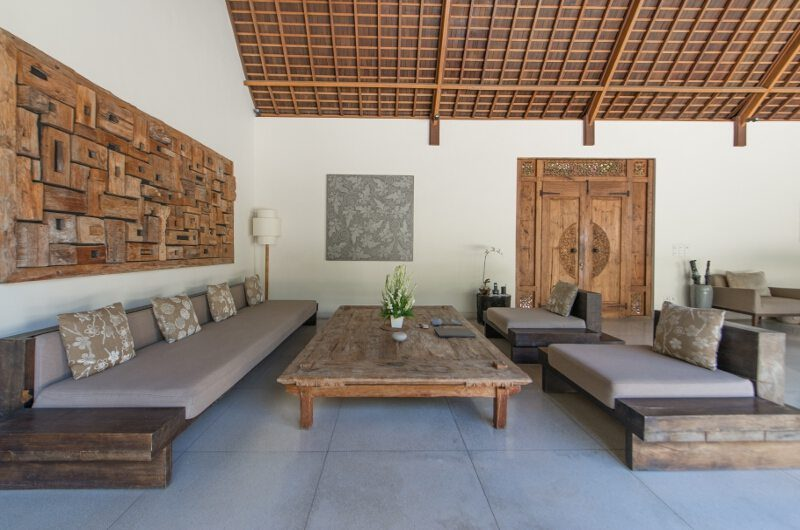 Nyaman Villas Living Area, Seminyak | 8 Bedroom Villas Bali