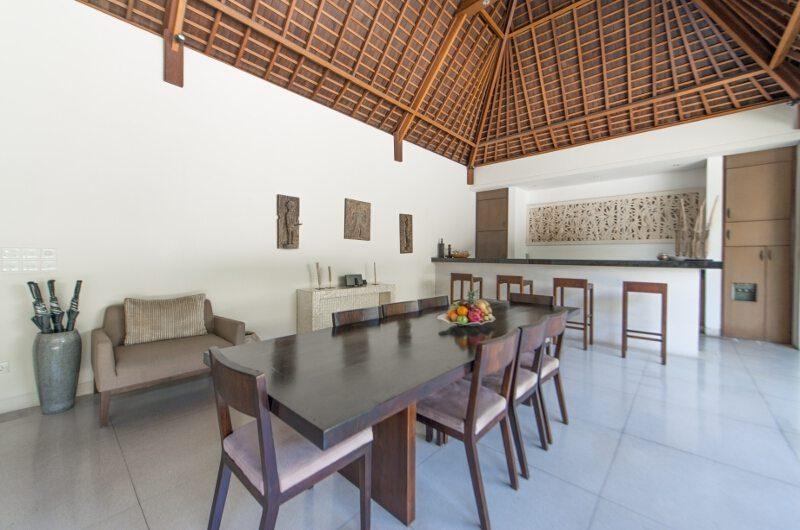 Nyaman Villas Dining Area, Seminyak | 8 Bedroom Villas Bali