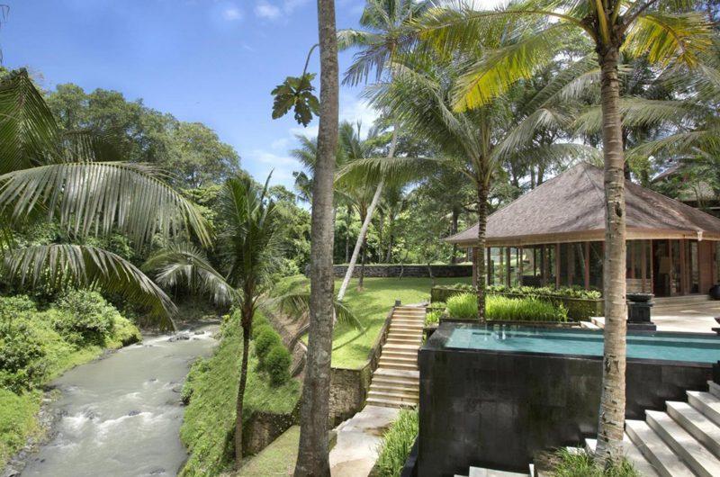 The Sanctuary Bali Outdoor Area with River View, Canggu | 8 Bedroom Villas Bali