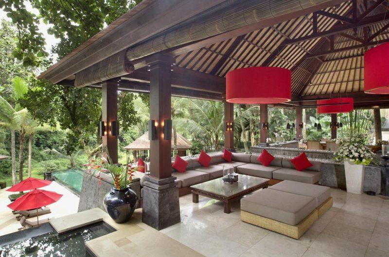 The Sanctuary Bali Outdoor Seating Area, Canggu | 8 Bedroom Villas Bali