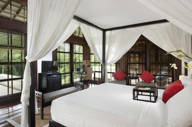 The Sanctuary Bali Bedroom with TV, Canggu | 8 Bedroom Villas Bali