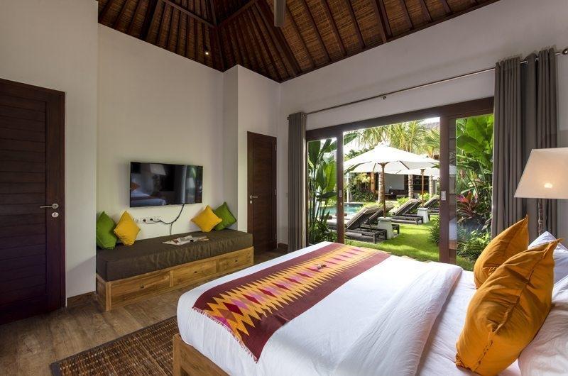 Villa Anam Bedroom with Pool View, Seminyak | 8 Bedroom Villas Bali