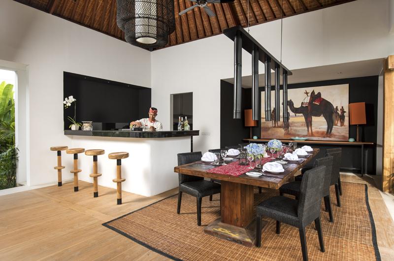 Villa Anam Dining Area, Seminyak | 8 Bedroom Villas Bali