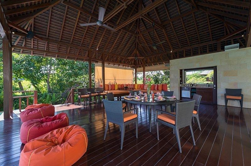 Bendega Villas Open Plan Dining Area, Canggu | 8 Bedroom Villas Bali