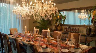 Villa Eshara Dining Area, Seminyak | 8 Bedroom Villas Bali