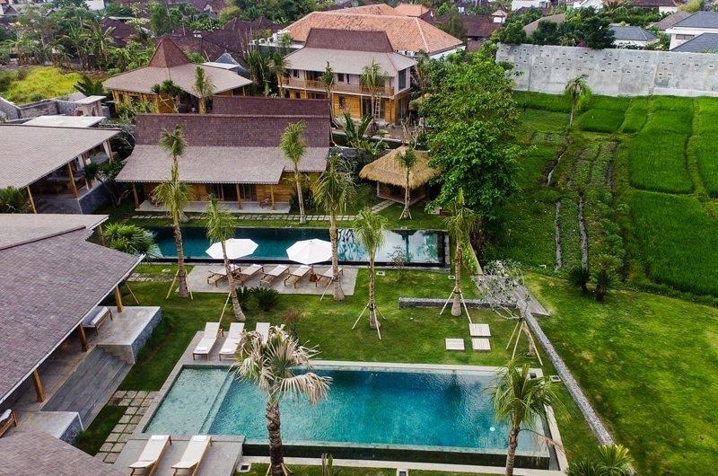 Jeeva Saba Estate Gardens and Pool, Kerobokan | 8 Bedroom Villas Bali