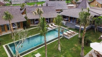 Jeeva Saba Estate Bird's Eye View, Kerobokan | 8 Bedroom Villas Bali