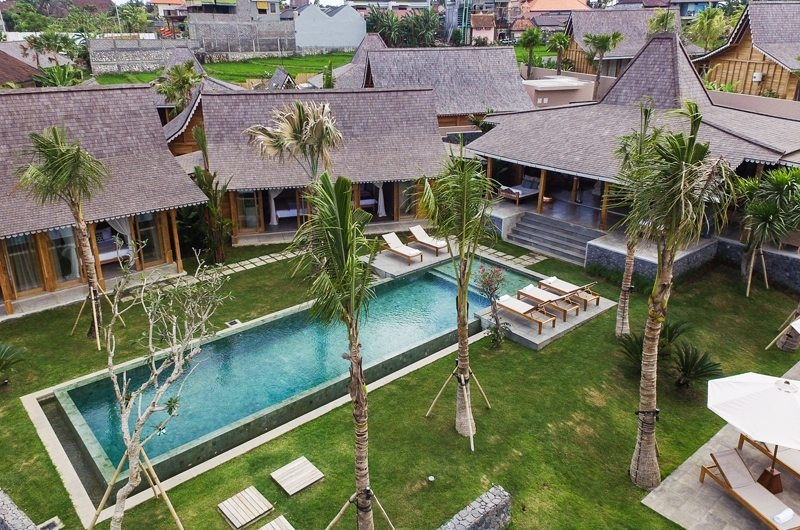 Jeeva Saba Estate Bird's Eye View, Kerobokan | 8 Bedroom Villas Bali