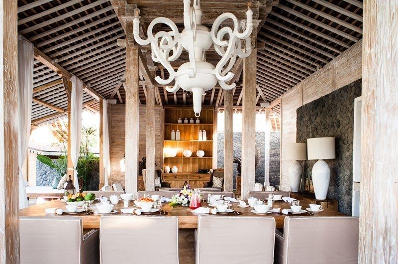Jeeva Saba Estate Dining Area, Kerobokan | 8 Bedroom Villas Bali