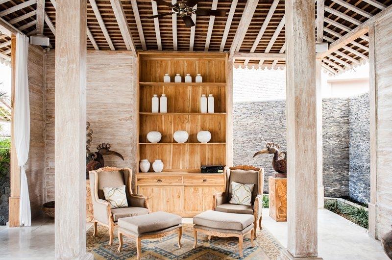 Jeeva Saba Estate Seating Area, Kerobokan | 8 Bedroom Villas Bali
